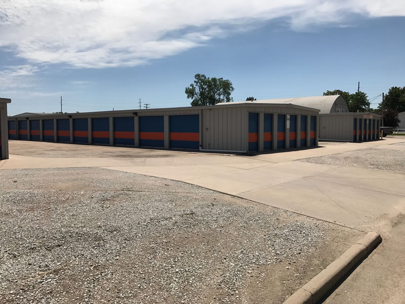 A&S Storage Facility Rear